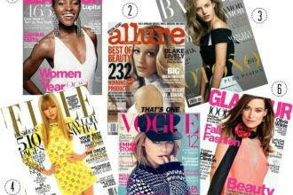 Top Magazines For Beauty + Fashion Inspiration // Classy and Kate