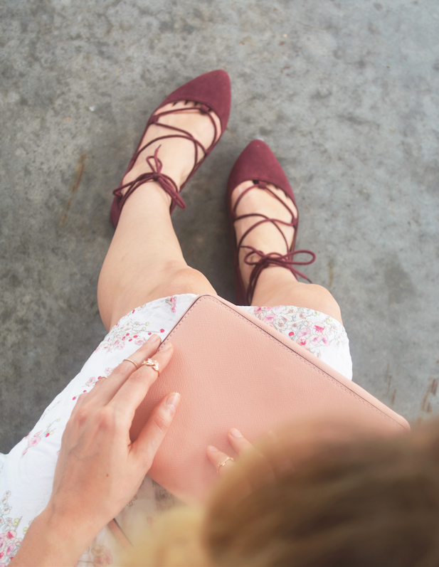 Maroon + Pink // Classy and Kate